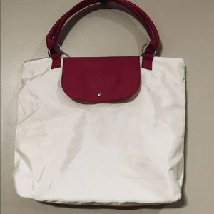 Vince Camuto Beige & pink Tote